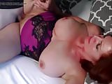 Redhead mature mom with  son