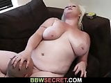 Wife leaves and he cheats with busty blonde