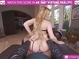 VRBangers Hot Biker Babe Get Her Pussy Opened Up