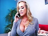 Naughty America MILF Brandi Love fucking in the couch with h