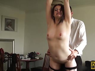 Anal Matures British video: English mature whore anally disciplined before tasting cum