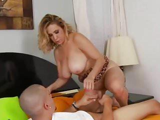 .milf young boy big boobs.