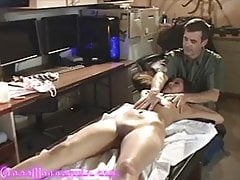 Sexy Asian Girl Gets Nude Massage From Old Pasty White Dude