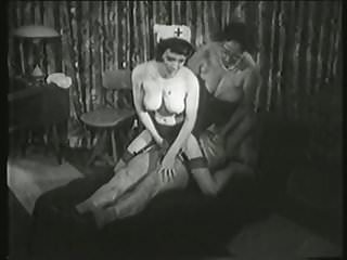 Vintage Threesome Retro video: Our rogues grandparents Volume 5 part 2