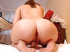 PAWG pokazuje jej wielki tyłek gotowy do bycia kurwa
