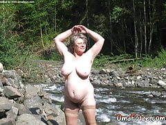OmaFotzE Amateur Nudes und heiße Reife abgebildet