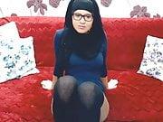 cam twerk hijab stocking