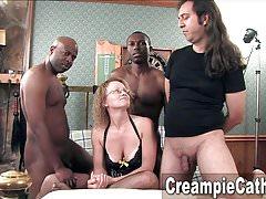 Messy Creampie pro Milf