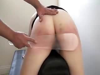 Spanked with the Paddle
