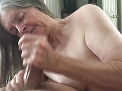 Grandma has cock fun