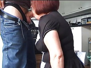 Velmadoo the French maid gagging on cock part 2