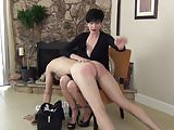 Over the Babysitter's Knee (spanking)