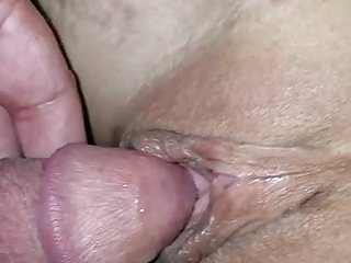 Amateur Cuckold Wife video: First stranger creampie for cuck