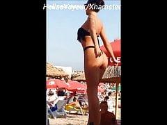 VOYEUR BEACH Danseuse Grecque !!!
