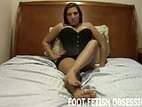 Cum on my feet slave boy