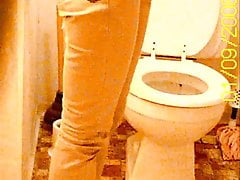Pisse stehend versteckte Toilette Nocken