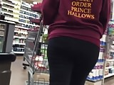 Solid PAWG Ass in Leggings