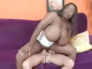 Black Big Tits Busty video: Busty Mianna whit Corset and white Dick