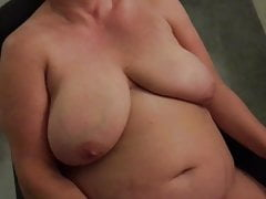 Granny masturbating