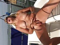 Masturbacja na łodzi w wielkim stylu