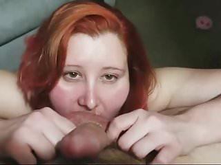 Tongue Blowjob video: split tongue blowjob 1