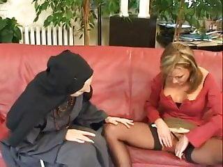 video: Mature fisting nun