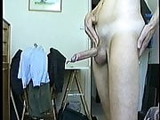 Vintage me (unshaved) with big cumshot