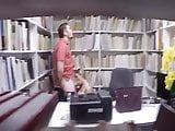 BJ in Library