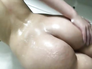 Amateur British Showers video: Short but Sweet 7: Soapy Round Ass