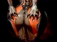 Robo booty, tyłek gry wideo, aby mnie osłabić