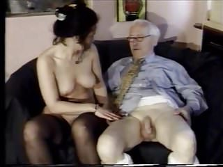 Oldyoung Oldman Suck And Fuck video: Oldman suck and fuck