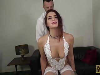 Bdsm Blowjob Big Cock video: PASCALSSUBSLUTS - Goth sub Cat Collar submits to big cock