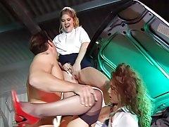 Erica and Kai Nobel, Slutty Schoolgirls