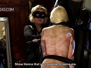 Bdsm Slave Whipping video: Blonde slave severely punished