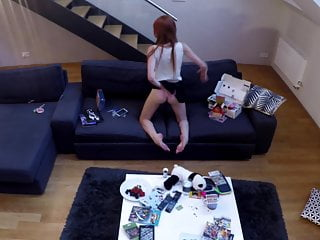 Porno video: My Petite Teenie Sister got a new Nintendo I got a new cam