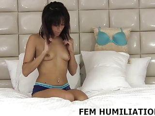 Bdsm Femdom Pov video: I want to help you indulge your crossdressing fantasy