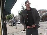 081203 damon sagging and smoking on sidewalk