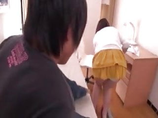 Oldyoung Asian Japanese video: Asian japanese Milf get entangled by young boy's cock