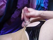 sissy clit with rings
