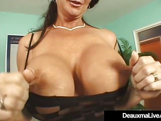 Brunettes Sex Toys Big Tits video: Busty Mature Deauxma Is Butthole Banged By A Big Hard Dick!