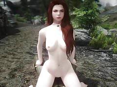 Dívka má sex s orcem