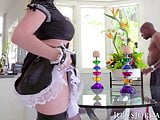 Jules Jordan - Big Boob French Maid Nikki Benz Interracial