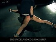 Teeny blonde slut gets first lessons of submission