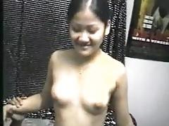 Porno vintage tailandese dietro la scena