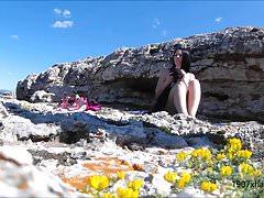 Hidden Cam Spy Beach Angry Nude Blowjob Nieznajomy