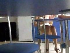 under table upskirt 2