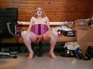 just love my big black dildo