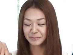 Serina Hayakawa stupefacente pompino POV in cam
