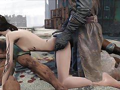 Ambush 1 di Fallout 4 Elie Pillars