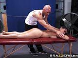 Brazzers - Dirty Masseur - Rookie Nookie scene starring Diam